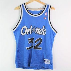 Vintage Champion 90s Orlando Magic Shaq Shaquille